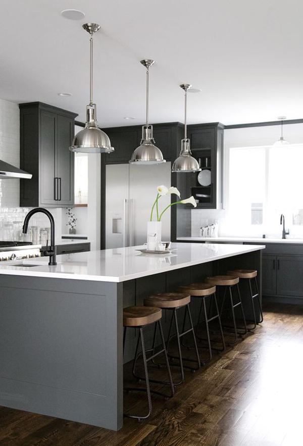 modern-grey-kitchen-island-with-mini-bar