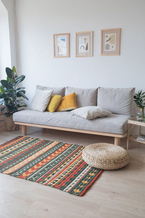 orange-and-green-retro-rugs-with-bohemian-style