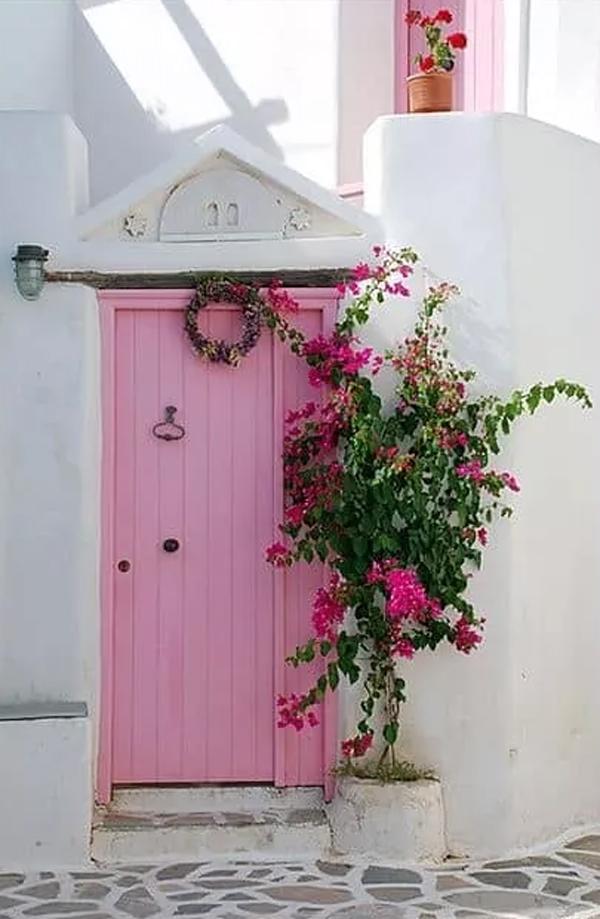 pastel-pink-front-doors