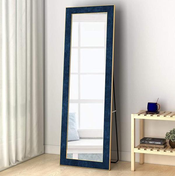 royal-blue-velvet-full-length-mirror