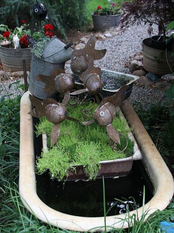 rustrustic-diy-bathtub-garden-pondic-diy-bathtub-garden-pond