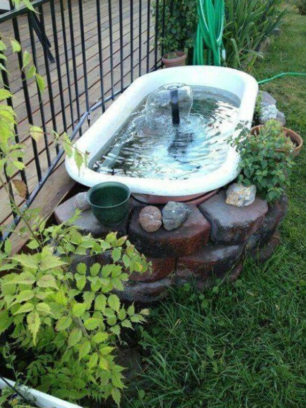 small-garden-design-with-bathtub-pond