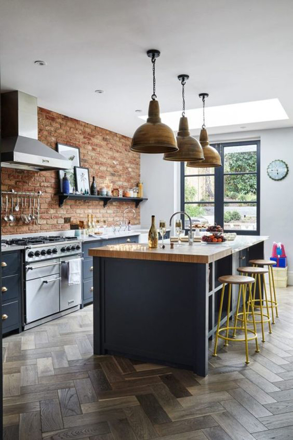stylish-kitchen-island-with-bright-exposed
