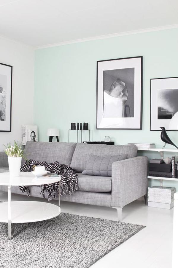 stylish-mint-living-room-wall