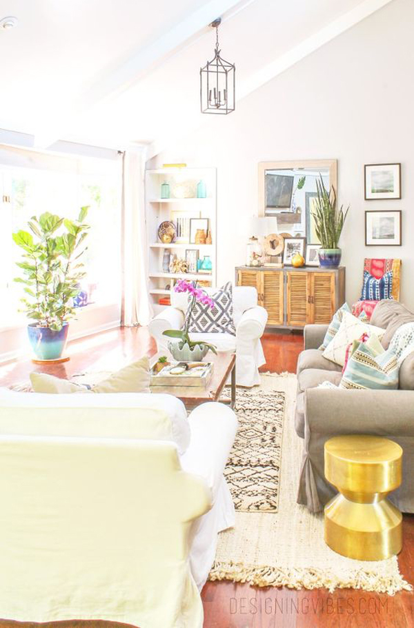 summer-eclectic-living-room-decor