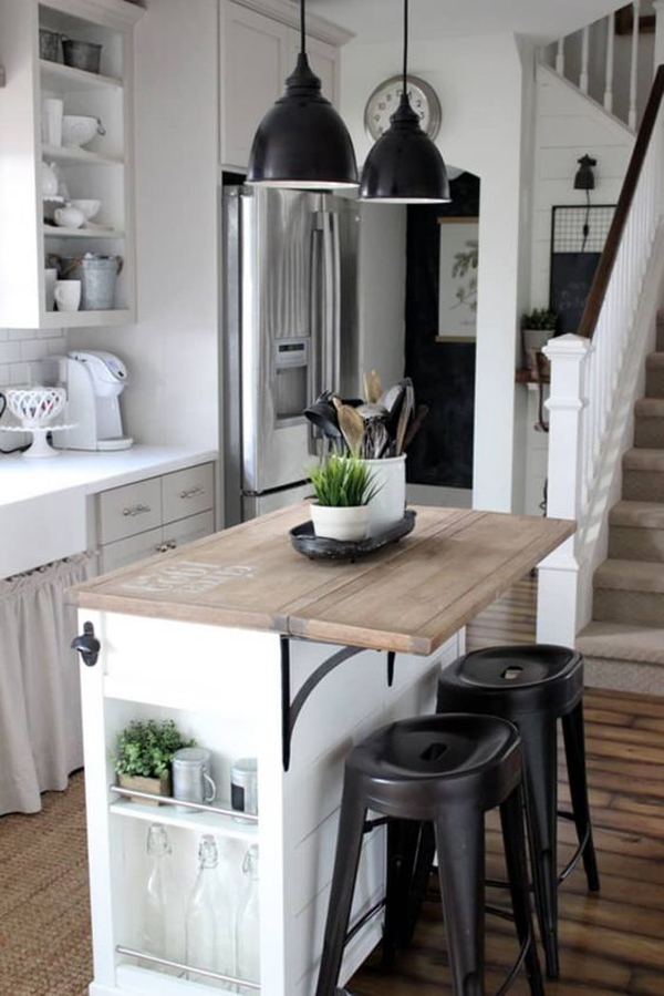 tiny-kitchen-island-for-small-space