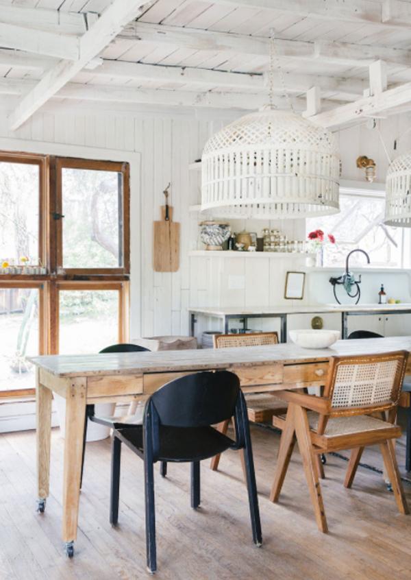 vintage-dining-room-design-for-cabin