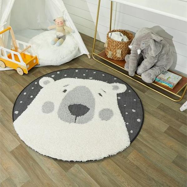 white-bear-rug-theme-for-nursery