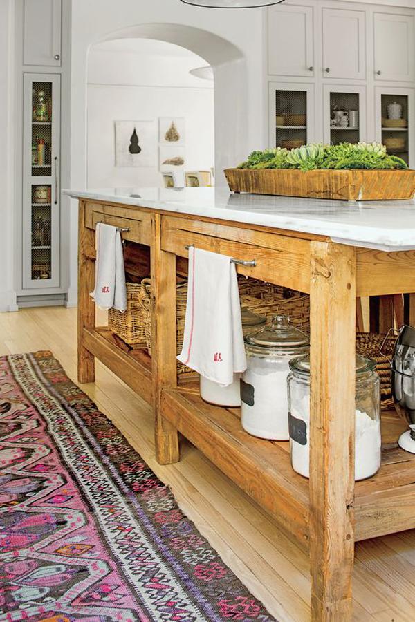 wooden-kitchen-island-design