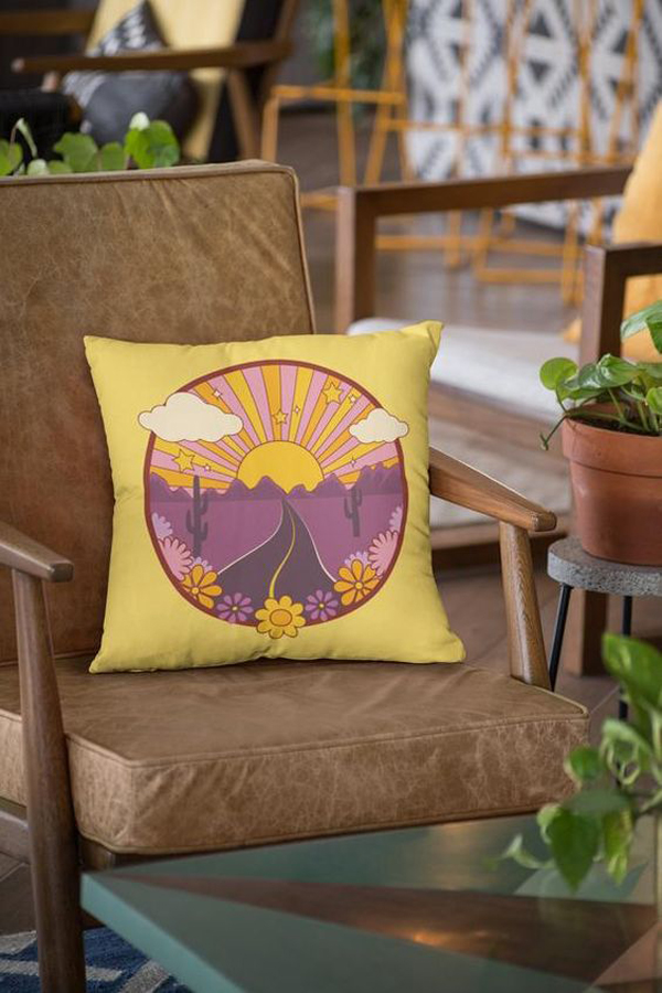 yellow-throw-pillow-cover