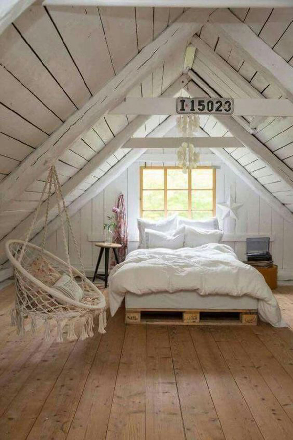 attic-wooden-bedroom-with-vintage-style