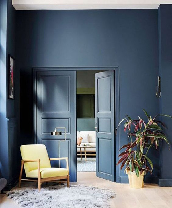 awesome-blue-and-door-accent-walls