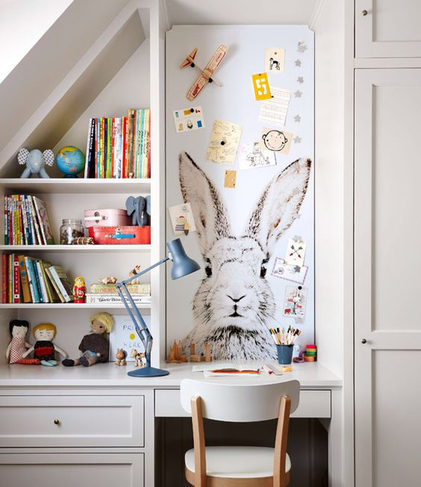 bunny-kids-desk-wallpaper-with-magnetic-wall