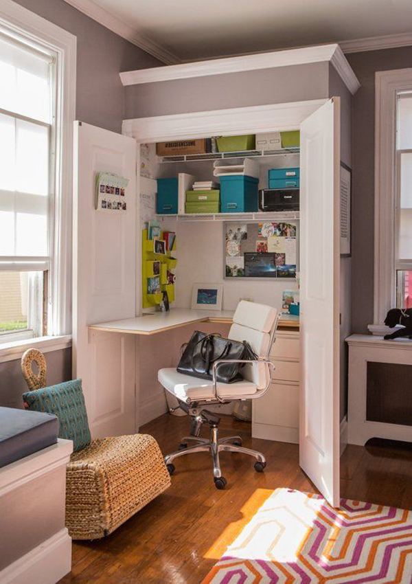 compact-closet-office-for-small-space