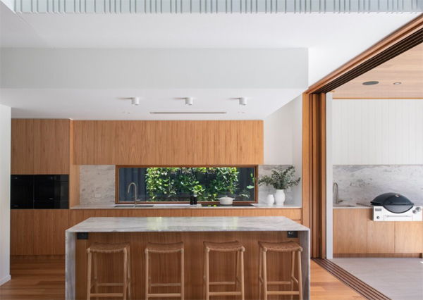 contempory-kitchen-island-with-wood-accent