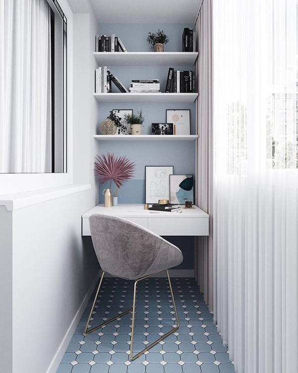 elegant-small-home-office-for-balcony