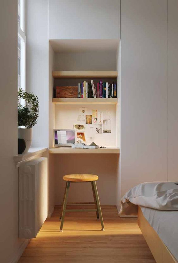 modern-tiny-home-office-for-bedroom