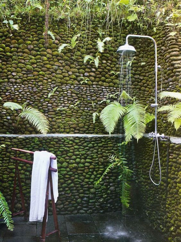 natural-outdoor-shower-with-gravel-barrier