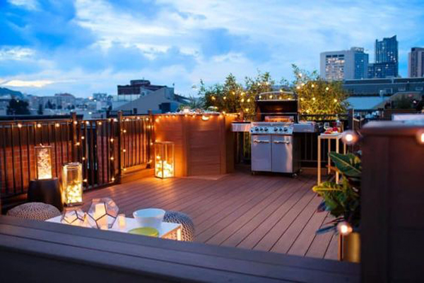 romantic-outdoor-kitchens-with-lights