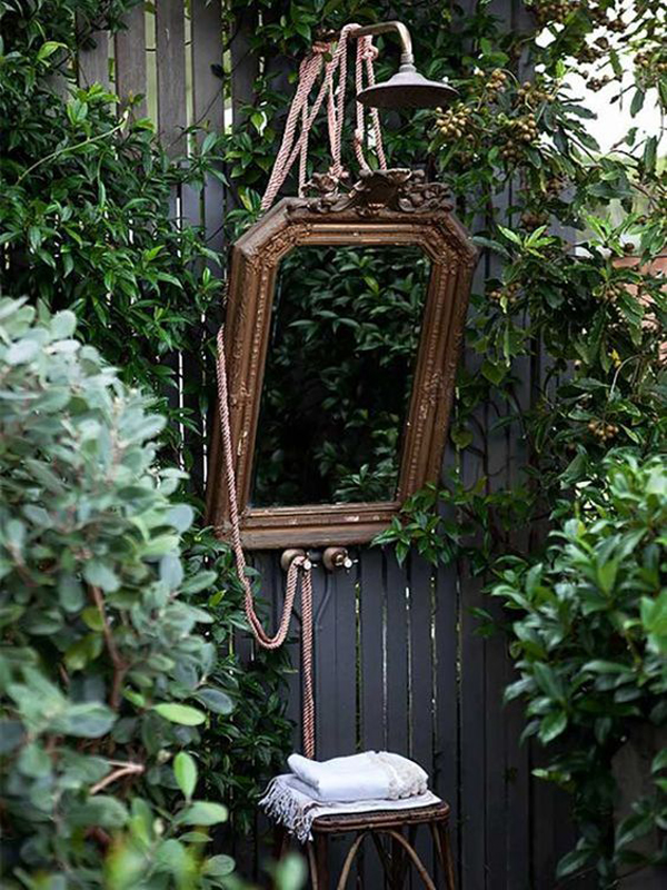 rustic-outdoor-shower-design-with-mirrors