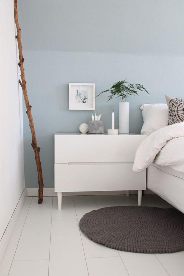scandinavian-bedroom-with-light-blue-accent-wall
