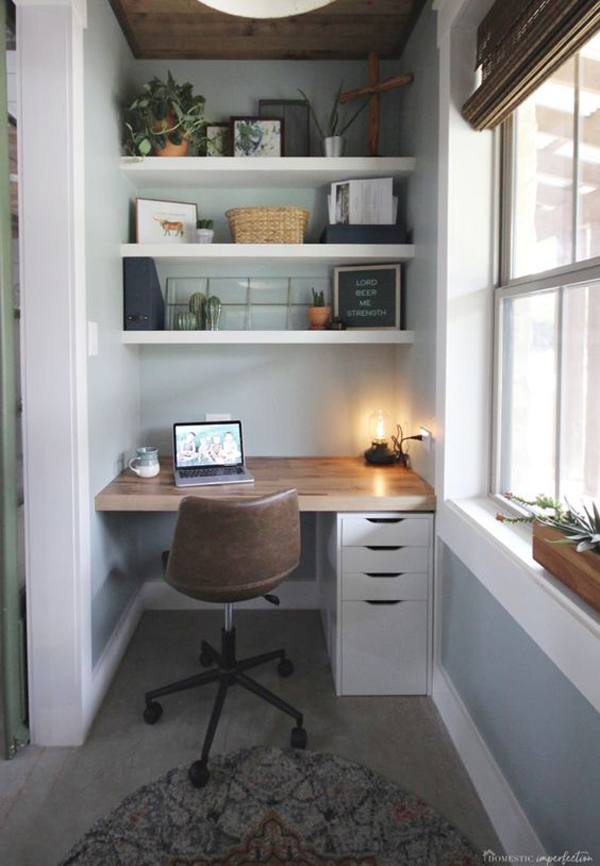 tiny-home-office-design-with-farmhouse-style