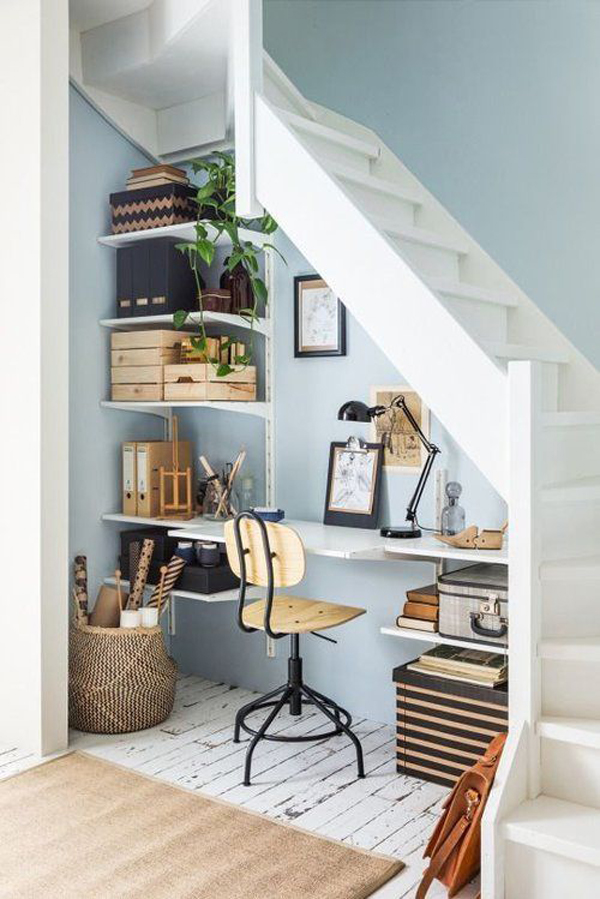 under-stairs-home-office-design