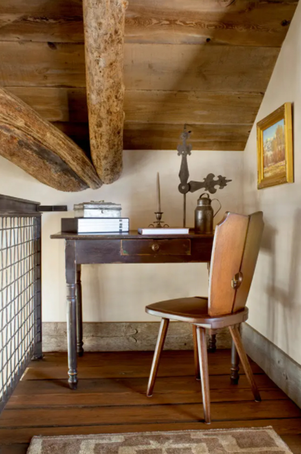 vintage-small-home-office-design