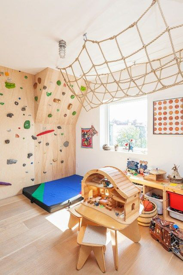 wooden-kids-playroom-with-sport-theme