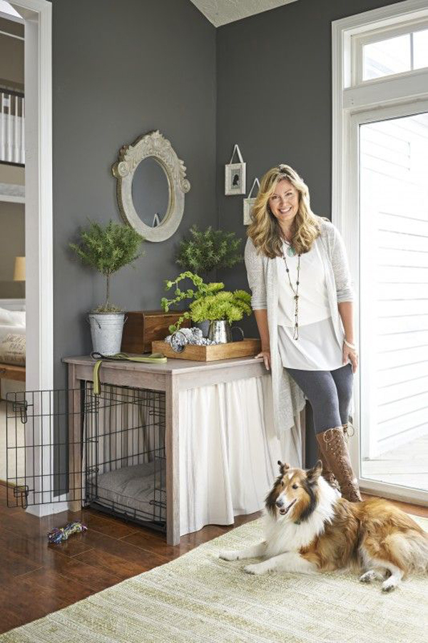 beautiful-indoor-dog-crates-with-curtain