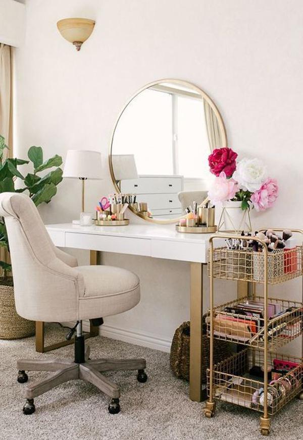 best-makeup-ideas-with-bar-cart-storage
