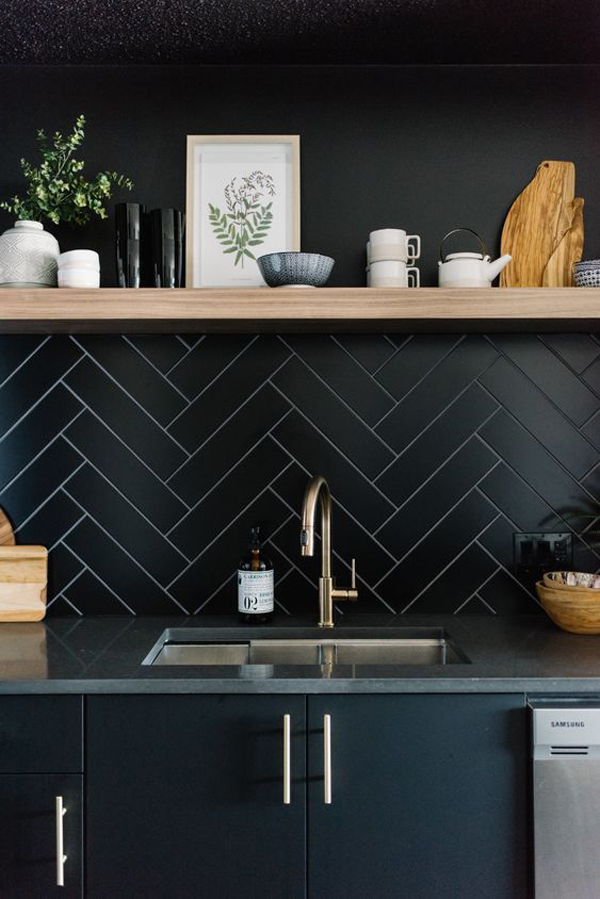 7 Cool And Stylish Kitchen Ideas With Black Color
