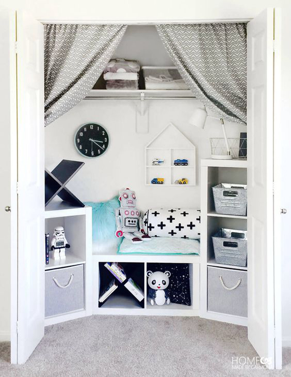cool-closet-reading-nook-with-storage-ideas
