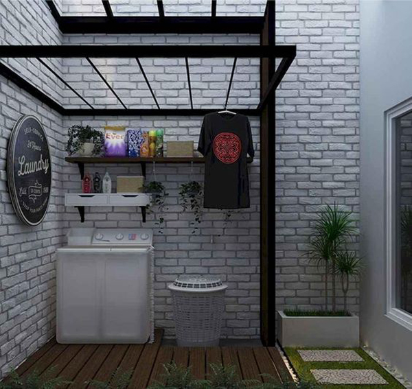 cool-laundry-room-for-small-backyard