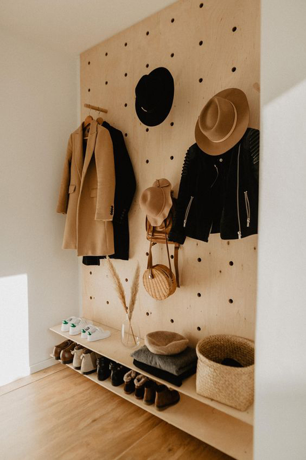 diy-pegboard-closet-wall-organizer