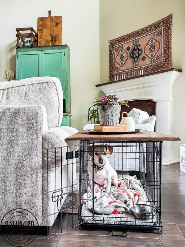 dog-crate-tabletop-design