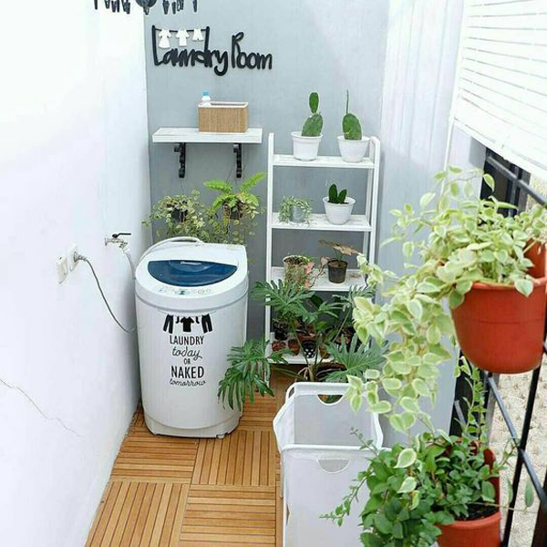 fresh-small-laundry-room-with-indoor-plants
