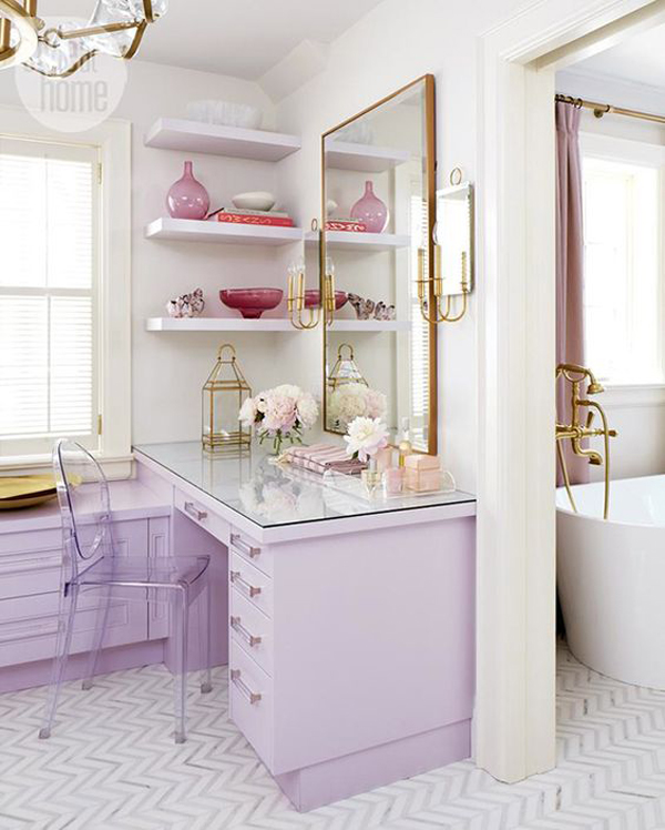 lilac-and-gold-home-office-design