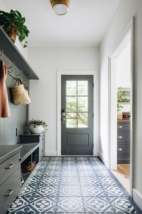 modern-classic-mudrooms-with-grey-color