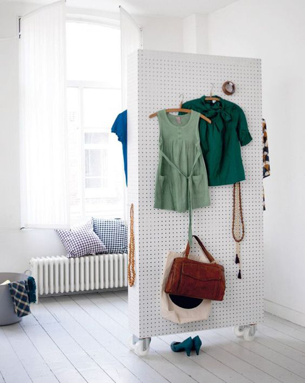pegboard-wardrobe-with-room-divider