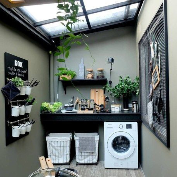 small-laundry-rooms-with-wall-organize