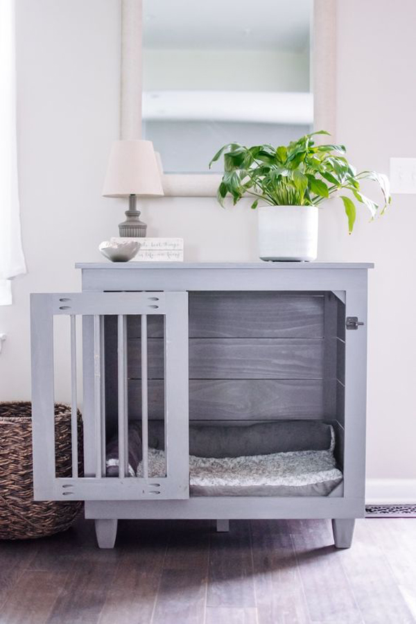 trendy-dog-crates-for-living-room