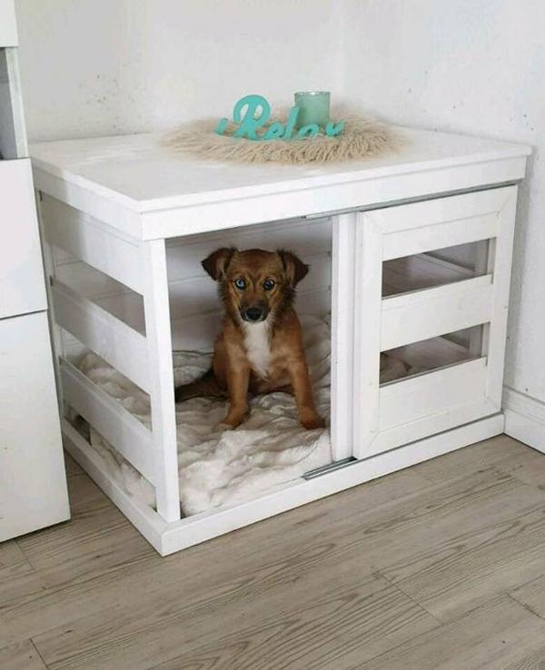 wood-diy-dog-crates-in-the-corner