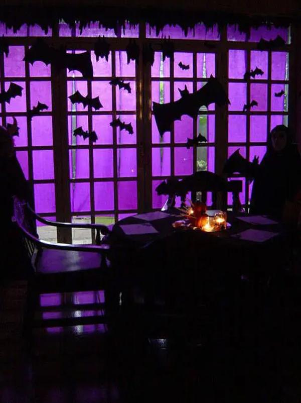 black-and-purple-bat-window-for-halloween