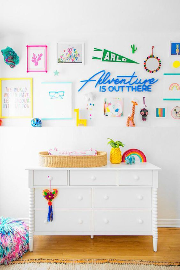 colorful-kids-nursery-with-rainbow-color