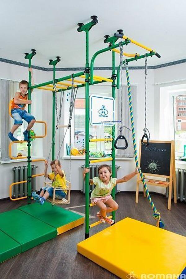 diy-indoor-kid-playground-design