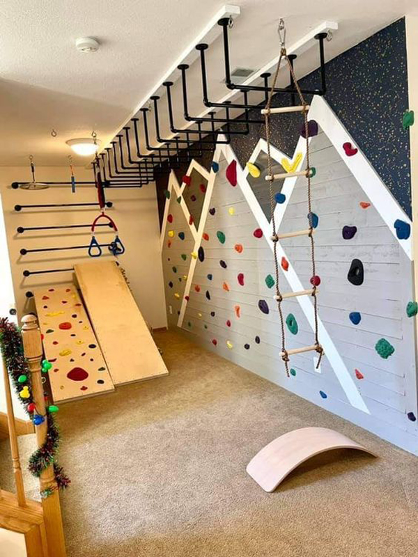 diy-indoor-playground-with-home-gym
