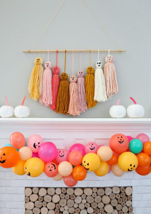 diy-jack-o-lantern-balloon-garland