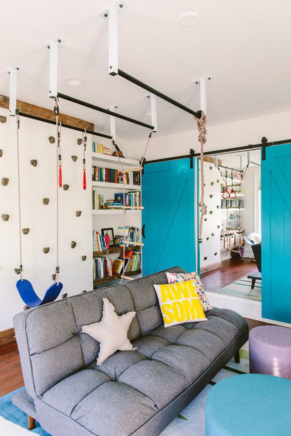 home-gym-and-playground-in-living-room
