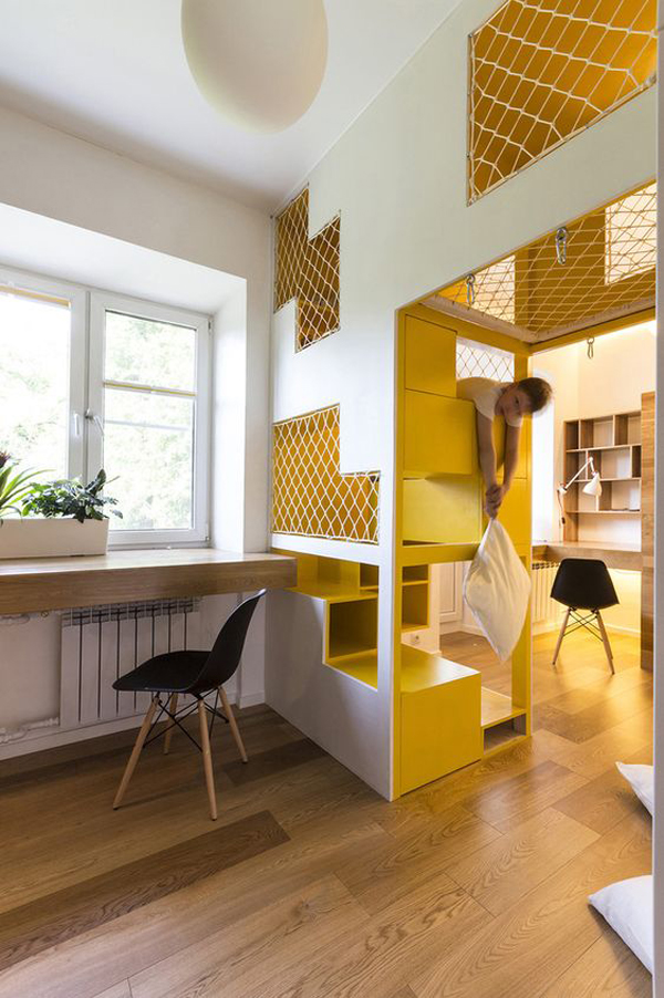 home-indoor-playground-with-yellow-accent